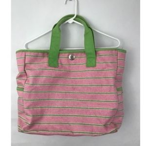 """17""""X12""""X6"""" Canvas Tote Snap"""